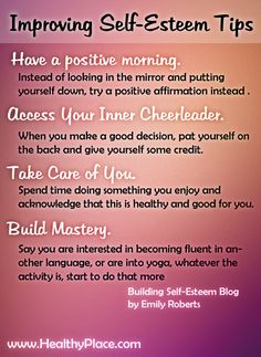 How to Increase Your Self-Esteem Today - www.healthyplace.... - #SelfEsteem #IncreaseSelfEsteem #HealthyPlace