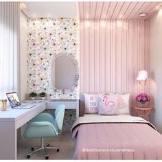 20 Ideas For Bedroom Diy Adult Design Cute Bedroom Ideas, Cute Room Decor, Girl Bedroom Designs, Teen Room Decor, Bedroom Decor, Aesthetic Rooms, Small Room Bedroom, Kids Room Design, Dream Rooms