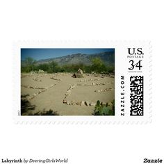 Labyrinth Postage