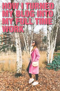 Discover my secrets to be a full time blogger. #blog #blogging #fulltimeblogger #blogger #blogmarketing #blogbusiness