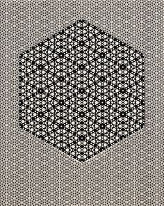 Black White HyperCube by Atomic Art, via Flickr