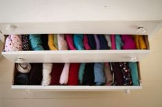 Pleasant View Schoolhouse  folding clothes and putting them vertically in  drawers so nothing is hidden. Idea from Marie Kondo. I think my kids could  really ... a1b08a4127