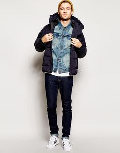 Image 4 of ASOS Denim Jacket In Skinny Fit