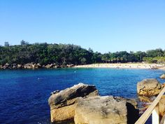 Shelley beach in Manly. This country has so many good beaches.