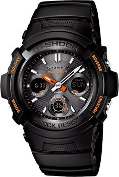 Mens G-Shock Fire Package 2013 Limited Model Solar Radio Controlled Atomic Multiband 6 Watch (AWG-M100F-1AJR) Free Shipping within Australia
