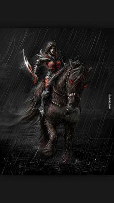 Daedric Armor and Shadowmere.