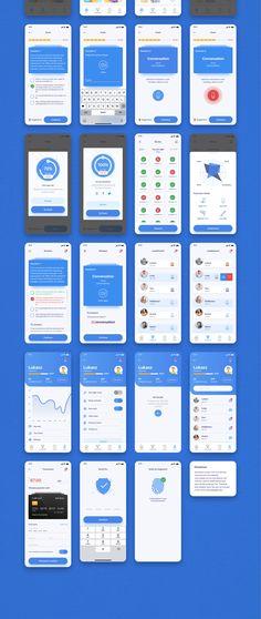 App Ui Design, Adobe Xd, Ui Kit, Mobile Design, Mood Boards, Saving Money, How To Become, Illustration Art, Sketch