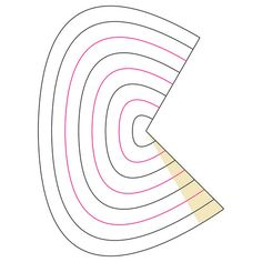 Elliptical Cone Corrugation Crease Pattern   by oschene
