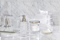 Sparkling Crystal Bath Accessories