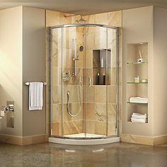 astonishing round shower. Prime 33 inch x 74 75 Framed Sliding Shower Enclosure in  Chrome with Quarter Round Base Corner Stall Units Enclosures Verona Circular