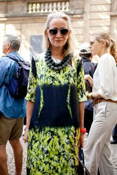 Fashion Director of British Vogue..Lucinda Chambers who is Fab-u-lous!