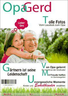 Mein Opa hat einen Orden verdient - oder eine eigene Zeitschrift! Eine Jilster Zeitung ist ein ganz besonderes Geschenk www.jilster.de