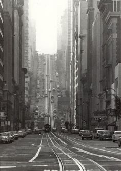 California St., San Francisco, 1964