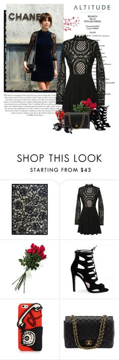 """Sassyselfie.com"" by yexyka ❤ liked on Polyvore featuring Nourison, Hanky Panky, Tory Burch, Chanel, peeptoe and sassyselfie"