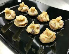 κριθαράκι με λαχανικά του Χόλιγουντ vs της Πόλης   Pandespani Healthy Recipes, Healthy Meals, Dumplings, Truffles, Pesto, Stuffed Mushrooms, Menu, Pudding, Cooking