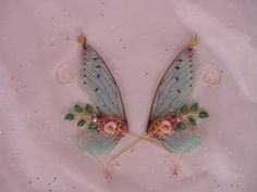 fairy wing tutorial - Lady of the One Ring, oh the things we can do with this idea !