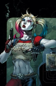 HARLEY QUINN 25TH ANNIVERSARY SPECIAL #1 by Jim Lee