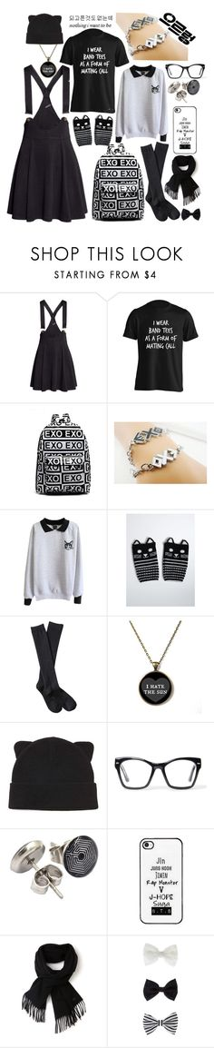 """""""kpop fan"""" by deathbycats ❤ liked on Polyvore featuring H&M, Torrid, Xhilaration, Forever 21, Spitfire, Lacoste, Accessorize, women's clothing, women and female"""
