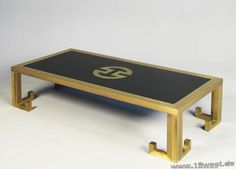 A coffee table by Mario Sabot.