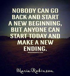 New week; new start