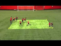 Soccer Drills: Passing & Receiving - YouTube