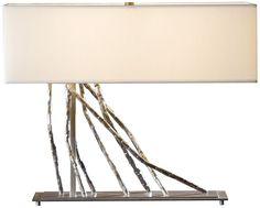 Brindille Steel Hubbardton Forge Table Lamp - EuroStyleLighting.com