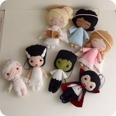 Gingermelon Dolls: Angel Ornament Pattern Giveaway!    So freaking cute, I can't stand it!!