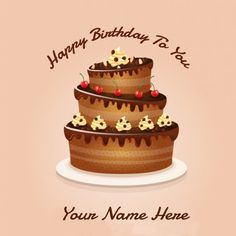 Happy Birthday Wish Chocolate Greetings Cards Online
