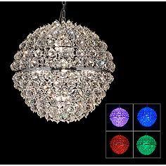"Vienna Full Spectrum Lavina 23"" Wide LED Crystal Chandelier"