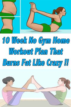 healthy living strategy: No-Gym Home Workout Plan That Burns Fat Like Crazy! Fitness Tips, Health Fitness, Fitness Plan, Fitness Exercises, Fun Workouts, At Home Workouts, At Home Workout Plan, Like Crazy, Fat Burning Workout
