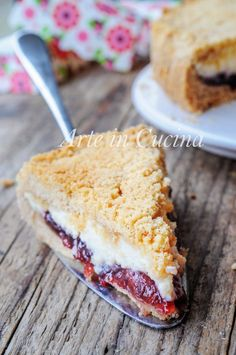 Bake your favorite treats with our many sweet recipes and baking ideas for desserts, cupcakes, breakfast and more at Cooking Channel. Italian Desserts, Italian Recipes, Pie Dessert, Dessert Recipes, Torta Angel, Jam Tarts, Sweet Cakes, Cakes And More, Ricotta