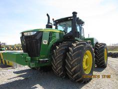 570 hp John Deere 9570R scraper special tractor