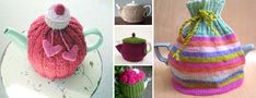 tea cozy patterns. How cute! Would make a great gift to some of my tea fanatic friends :]