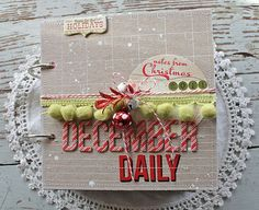 december daily by michelle wooderson | via mish mash blog