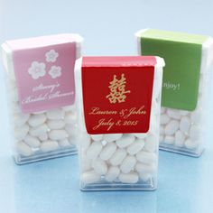 Asian Personalized Tic Tacs Favors - Asian Theme Wedding Favors - Wedding Favor Themes - Wedding Favors & Party Supplies - Favors and Flowers