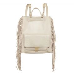 LUCILLE BACKPACK / TOTE CREAM