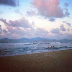 Sunset at An Bang beach, Vietnam Visit Vietnam, Vietnam Travel, Danang Vietnam, Da Nang, Scuba Diving, Where To Go, Places To Visit, Culture, Explore