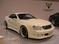 JDM VIP Style Mercedes Benz CL550 Widebody