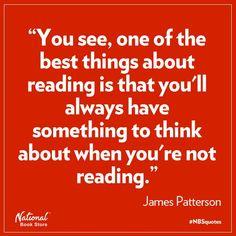 - James Patterson