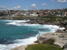 The Bondi to Coogee Beach coastal walk-Sydney, Australia
