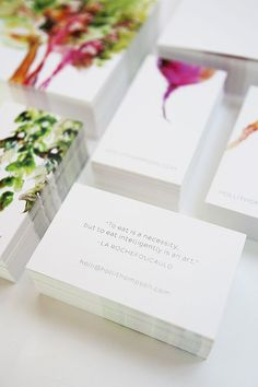 simple + pretty business cards  Curated By Transition Marketing Services Visit Us: http:www.transitionmarketing.ca  Okanagan Small Business Branding & Marketing Solutions