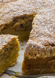 Tarte de maçã Cookbook Recipes, Cake Recipes, My Favorite Food, Favorite Recipes, Cheesecakes, Delicious Desserts, Yummy Food, Brownies, Sweet Pie