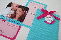 Convite Chá bar #invitation #bridalshower #joyinthebox