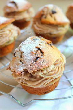 duplán gesztenyés muffin