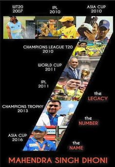 The only captain in the world to win everything under the sun Dhoni Records, Ms Dhoni Biography, Ms Doni, Ziva Dhoni, History Of Cricket, Dhoni Quotes, Ms Dhoni Wallpapers, Cricket Quotes, Ms Dhoni Photos