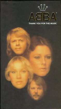ABBA - Thank you for the Music & Girl with the Golden Hair - Another favourite ABBA song!!!