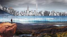 New York Horizon – Central Park's horizontal skyscraper by designers Jianshi Wu and Yitan Sun