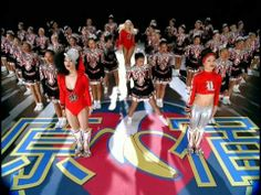 """'Hollaback Girl,' Gwen Stefani. After Courtney Love suggested that Stefani was a cheerleader, the No Doubt frontwoman showed Love -- by dressing up like one for this 2005 song's video. But, hey, at least she's no ditz. She can spell """"B-A-N-A-N-A-S."""""""