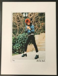Signed and numbered David Bowie photograph x x David Bowie Pictures, Beverly Hills Hotel, Art World, Photograph, Painting, Photography, Painting Art, Photographs, Paintings