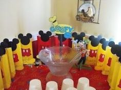 Mickey Mouse Clubhouse Birthday Party #kids #baby by ava